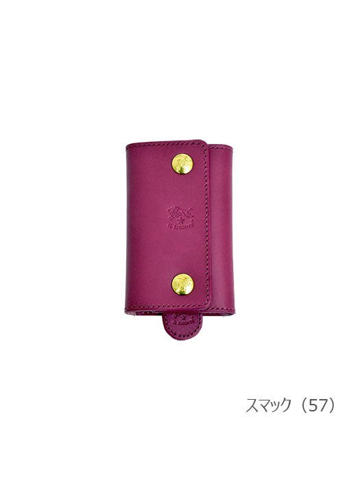 IL BISONTE イルビゾンテ【54202309190 折財布】スマック