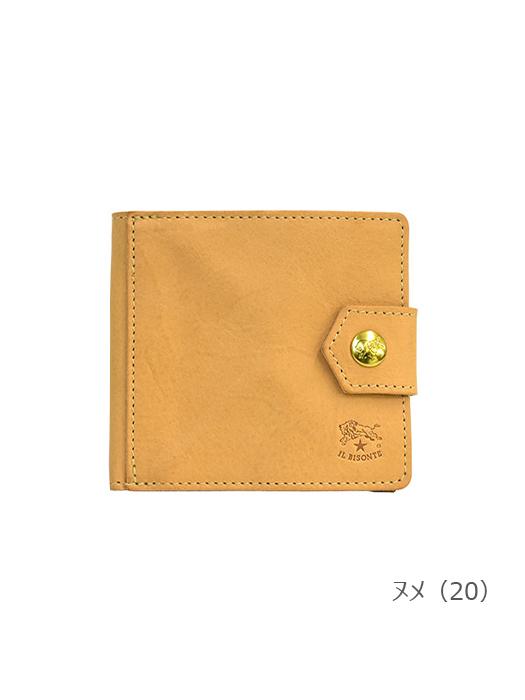IL BISONTE イルビゾンテ【54202310540 折財布】ヌメ