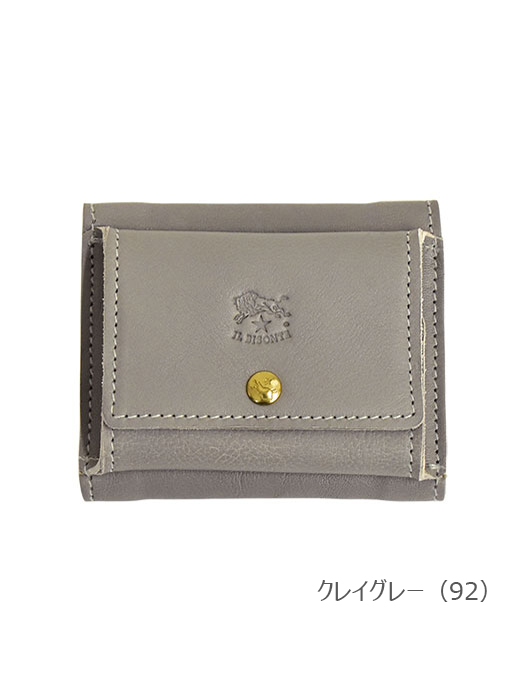 IL BISONTE イルビゾンテ【54202312240 折財布】クレイグレー