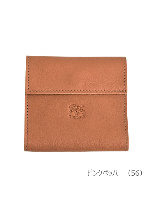 IL BISONTE イルビゾンテ【54202312440 折財布】ピンクペッパー