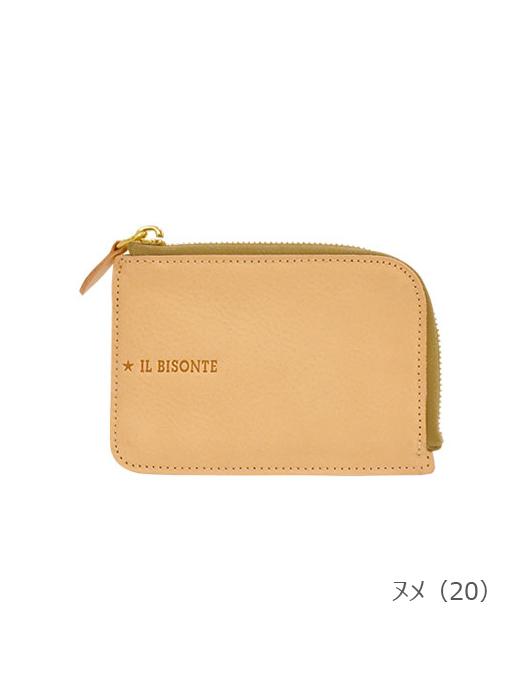 IL BISONTE イルビゾンテ【54212306940 折財布】ヌメ