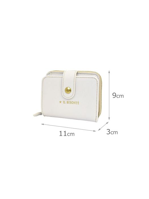 IL BISONTE イルビゾンテ【54212307140 折財布】サイズ