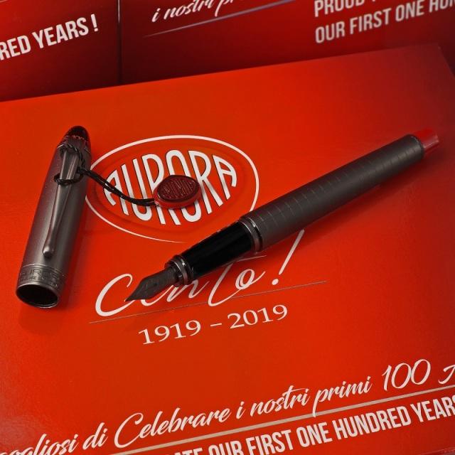 アウロラ 88 100周年記念限定生産品 チェント ローズゴールド 万年筆