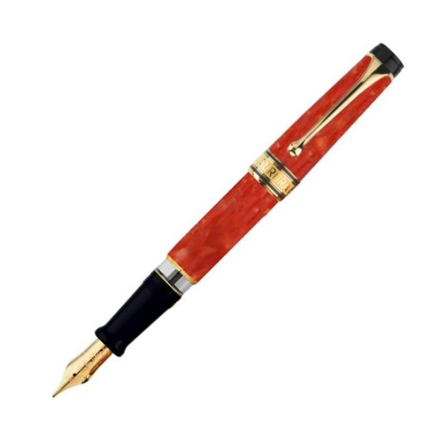 アウロラ 限定品 オプティマ365 コーラル 万年筆