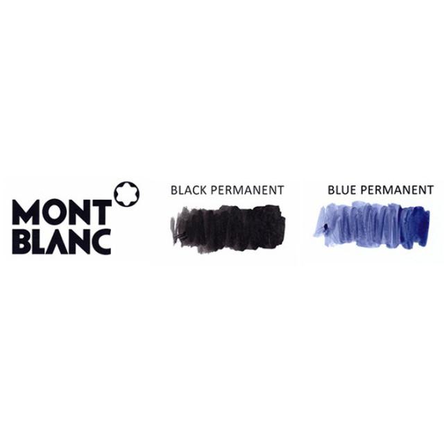 Mont Blanc インク見本 モンブラン