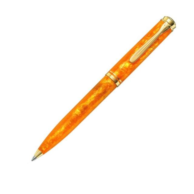 ペリカン 限定生産品 K600 ヴァイブラントオレンジ ボールペン Pelikan k600 Vibrant Orange Ballpoint Pen - Sfera