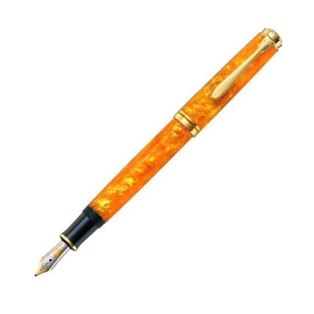 ペリカン 限定生産品 M600 ヴァイブラントオレンジ 万年筆 Pelikan M600 Vibrant Orange Fountain Pen