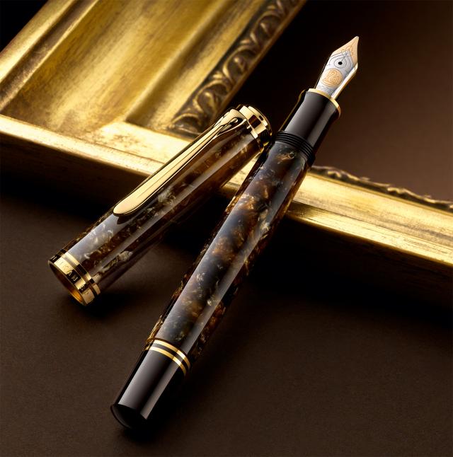 限定生産品 ペリカン M800 ルネサンスブラウン 万年筆 Pelikan Renaissance Brown Fountain pen