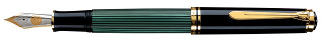 ペリカン・スーベレーン・M1000・万年筆・緑縞
