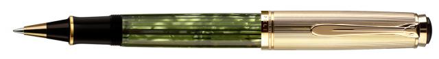 ペリカン スーベレーン R450 トートイス/バーメイル ローラーボール Pelikan R450 Tortoise Green and Gold Rollerball