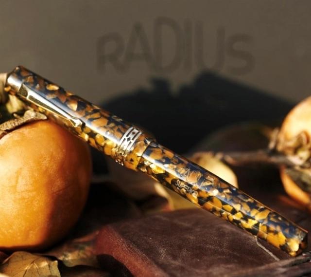 ラディウス スペリオア プリミッシマ マナローラアンバー 万年筆