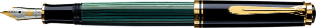 ペリカン スーベレーン M400 緑縞 万年筆 Pelikan Souveran M400 Green&Black Fountain-Pen