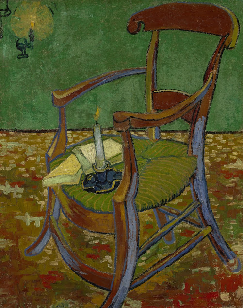 ゴーギャンの肘掛け椅子