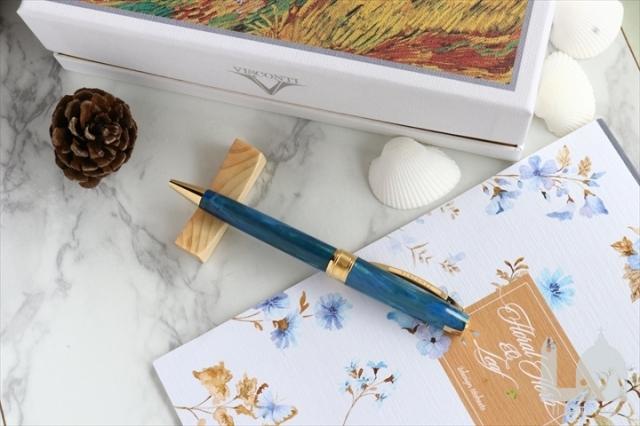 ビスコンティ 限定生産品 ヴァン・ゴッホコレクション カラスのいる麦畑 ボールペン