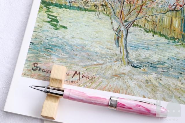 ビスコンティ ヴァンゴッホコレクション 花咲く桃の木 ローラーボール