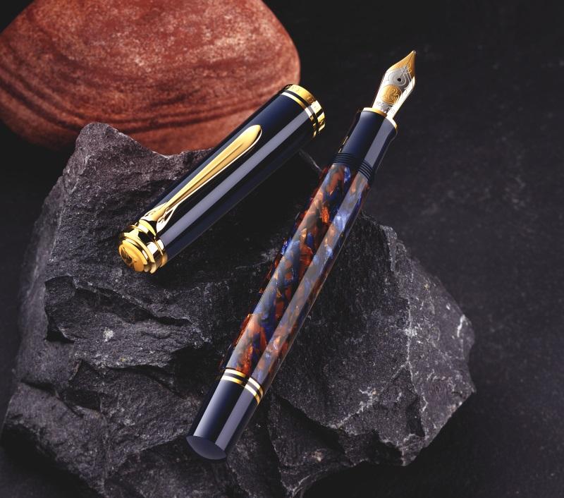 ペリカン 限定生産品 M800 ストーンガーデン Pelikan M800 Stone Garden Fountain Pen