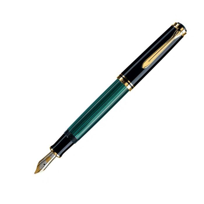 ペリカン スーベレーン 緑縞 M600 万年筆
