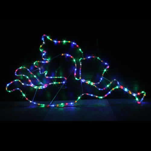 LEDモチーフ エンジェル(ミックス色)