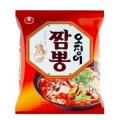 ★韓国の辛い麺、 農心、イカチャンポン、 韓国辛い麺の一品!★辛くて、美味しい韓国麺
