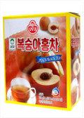 桃果汁と紅茶の調和がほどよく口に合う [オトギ] もも紅茶(粉/14g×15袋)