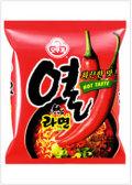 コシのある麺に濃いスープで辛い味が楽しめる! [オトギ] ヨル(熱)ラーメン(120g)