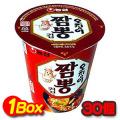 韓国食品/イカチャンポン カップ麺/1箱67g×30個