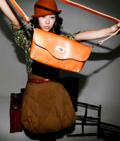 韓国トップスタイルブランド【shez】高級牛革ビンテージ3waysバッグ