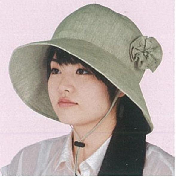 頭保護帽子 つまづきや転倒から頭をガードおしゃれ保護帽子【おでかけヘッドガード】:KM-1000P(ワイドブリムタイプ)【春夏用】