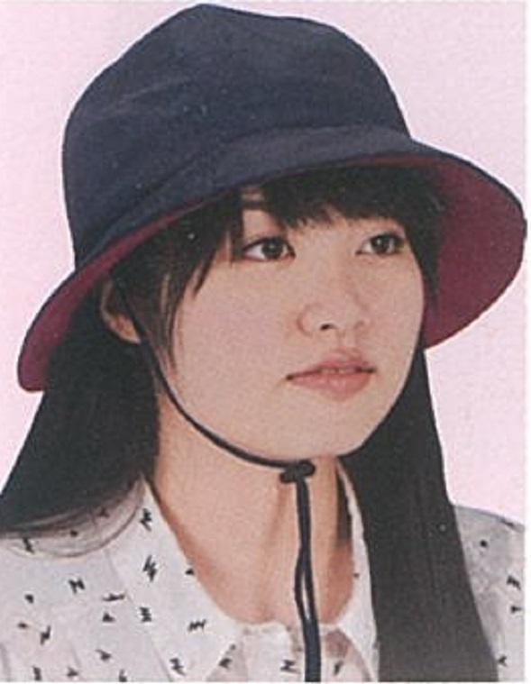 頭保護帽子 つまずきや転倒から頭をガードおしゃれ保護帽子【おでかけヘッドガード】撥水ハット:KM-1000T