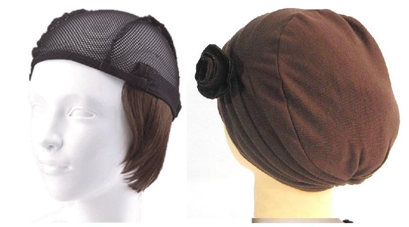 おしゃれウィッグキャップ【天使の帽子】ショートヘアー(医療用・簡単取外 し付け髪帽子)帽子250シリーズ