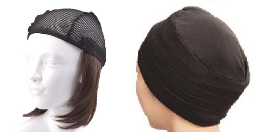 おしゃれウィッグキャップ【天使の帽子】ミディアムヘアー(医療用・簡単取外 し付け髪帽子)帽子282シリーズ 抗がん剤脱毛対策