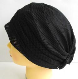 室内帽子 おしゃれヘアキャップ15 131チュールメッシュ おうち帽子 お出かけ帽子 日本製
