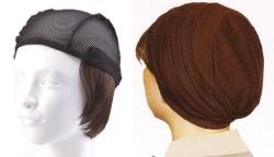 おしゃれウィッグキャップ【天使の帽子】ショートヘアー(医療用・簡単取外 し付け髪帽子)帽子191シリーズ 抗がん剤脱毛対策