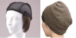 おしゃれウィッグキャップ【天使の帽子】ショートヘアー(医療用・簡単取外 し付け髪帽子)帽子282シリーズ 抗がん剤脱毛対策