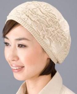 シルク100%ニットワッチ帽子 【抗がん剤治療】【医療用帽子】【ケア帽子】