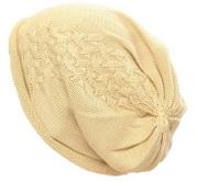 医療用帽子・シルクニットキャップ 絹100% 【抗がん剤治療】【医療用帽子】【ケア帽子】