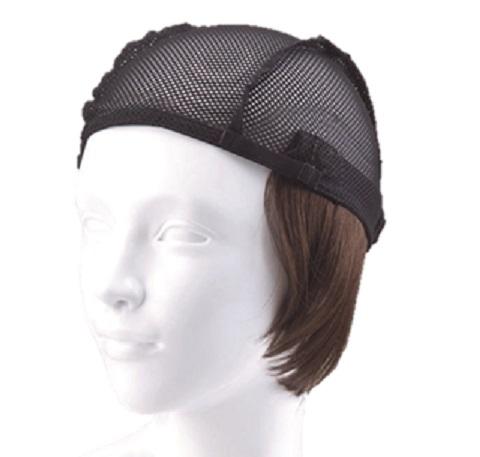 『お気に入りの帽子にセットするだけ【簡単取外し式付け髪・医療用ウィッグ】』ショート 抗がん剤脱毛対策