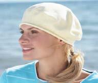 カナダ・パークハースト社メディカル帽子【ユメミル医療帽子】綿100% 医療用帽子 医療用キャップ #30016ベレー 抗がん剤脱毛対策