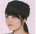 頭保護帽子 つまづきや転倒から頭をガードおしゃれ保護帽子【おでかけヘッドガード】:KM-1000Eターバンタイプ