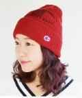 【Champion】リブ編みダブルワッチ  チャンピオン綿混ニット帽197-1025 DOUBLE WATCH KNIT CAP 綿50%