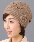 皮膚表面温度を快適調整【1日中かぶれる快適ニット帽子】