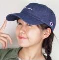 チャンピオン デニムローキャップCHAMPION DENIM  6-PANEL CAP 6パネル UV対策 男女兼用 手洗い可 綿100%