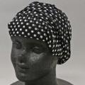 シルクパワーネットリボン帽子 (シルク100%)TB3022シルク工房