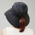 通気性が良いツバ広メッシュ帽子 日よけ 帽子 レディース 春 夏 UVカット ハット メッシュ つば広 紫外線 対策 折りたたみ