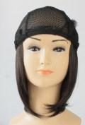 『お気に入りの帽子にセットするだけ【簡単取外し式付け髪・医療用ウィッグ】』ミディアム 抗がん剤脱毛対策