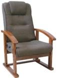 まごころレバー式高脚座椅子 FOK-アスカ
