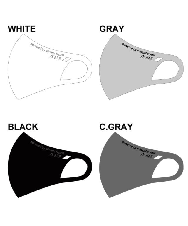 AXF アクセフ 洗えるエコマスク「AXF」(IFMC.加工) ★メール便可★