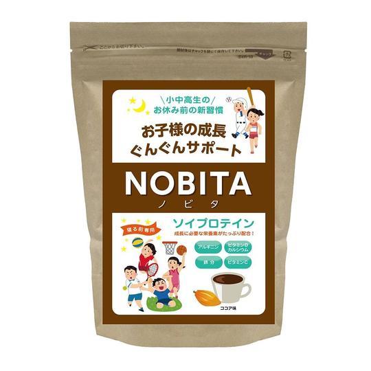 NOBITA ソイプロテイン - ココア味 600g