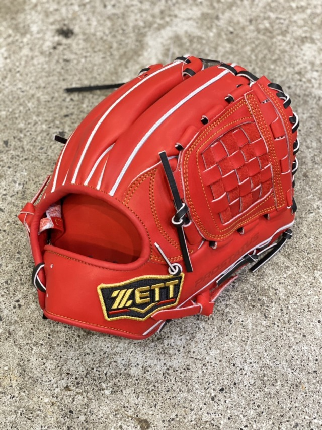 【型付け・送料無料】ゼット プロステイタス硬式グローブ  内野手用右投げ BPROG560