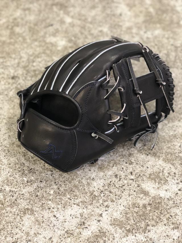 【送料無料】 ATOMS アトムズ 東日本限定硬式グローブ  内野手用右投げ ブラック APSL-2411